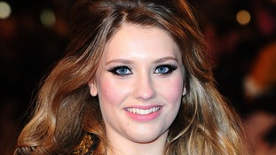 Ella Henderson who is tipped to hit number 1 spot with debut single this weekend.