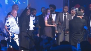Companies celebrating wins at last year's Black Country Asian Business Awards