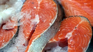 Protein rich diets containing lots of fish such as salmon can help cut strokes.