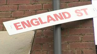 Wales Street in Oldham is now England Street.