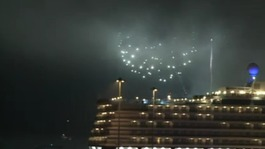 Fireworks & three Queens