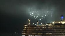 Fireworks & three Queens
