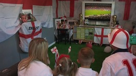 World Cup fever as fans turn homes into football shrines