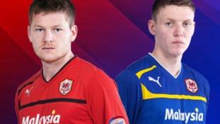 Cardiff City kits