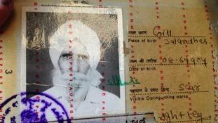 Nazar Singh passport