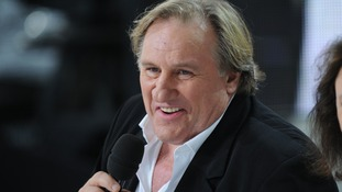 File photo of Gerard Depardieu.