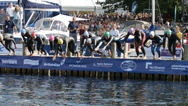 Great North Swim takes place in Windmere