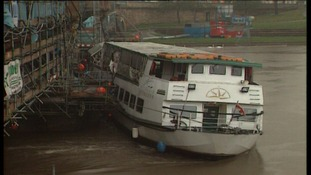 The Nottingham Princess hit Trent Bridge in high water in 2003