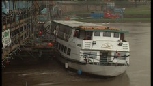The Nottingham Princess hit Trent Bridge in high water in 2003