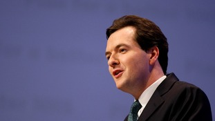 Finance Minister George Osbourne says he will give powers to the Bank of England to control mortgage sizes.