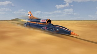 The mission to produce the world's first 1,000mph car has taken a mammoth step forward as the cockpit of the supersonic vehicle was revealed