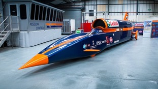 Bloodhound SSC Show Car.