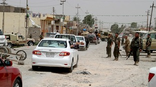 Insurgents have moved into the town of Jalawla in eastern Iraq.