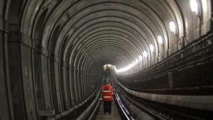 The Crossrail project's new Thames Tunnel will be unveiled by George Osborne today.