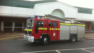Fire crews make store safe