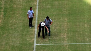 England are thought to have conducted their own investigation into the pitch.