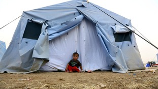 Half a million people have been displaced by the ongoing violence.