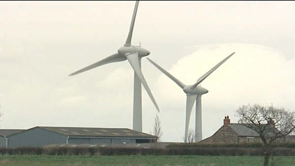 Lincolnshire windfarms
