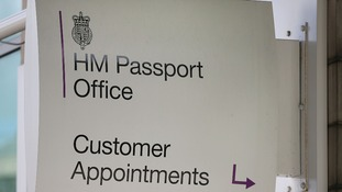 Interviews for first-time applicants for passports have apparently been suspended in London.