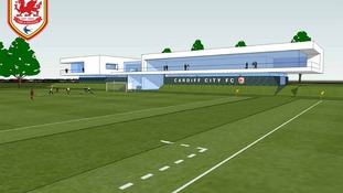 The impression of a new training facility