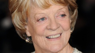 Downton Abbey's star Dame Maggie Smith.