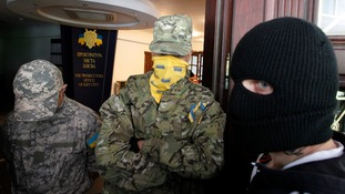William Hague has described tanks entering eastern Ukraine from Russia as 'completely unacceptable.'