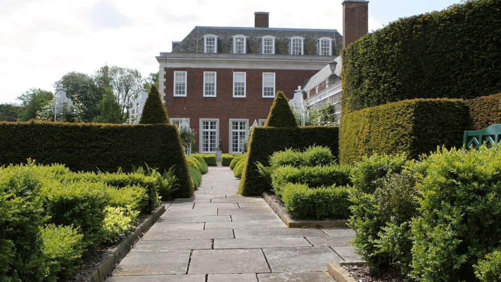 winfield house revealed as secret open squares garden
