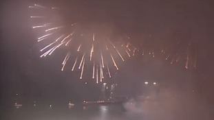 Thousands view Jubilee fireworks