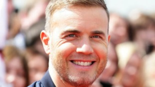 Smiling Gary Barlow arrives at Manchester  X Factor auditions