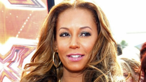 Former Spice Girl Mel B arrives at auditions