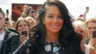 Tulisa arrives in Manchester