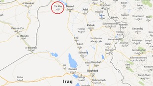 Militants have taken control of Tal Afar, approximately 38 kilometres west of the ISIS-controlled Mosul.
