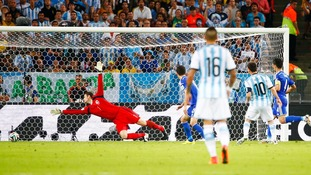 Lionel Messi scored a goal 'destined to go down in World Cup folklore.'