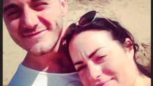 Robert Hart and Gemma Parry