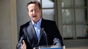 Cameron picked the fight, but defeat is looming