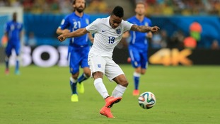 Sterling's shot in the opening minutes had many thinking England were ahead.