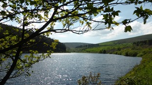 Ogden reservoir in Barley