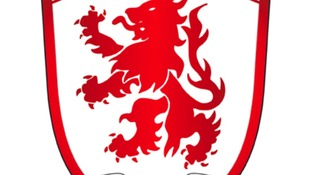Middlesbrough's badge