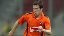 Danny Swanson playing for Dundee United