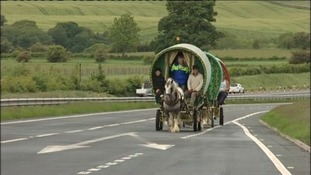 Horse enthusiasts travel to Appleby