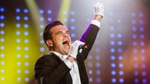 Robbie Williams: 'My back is knackered'