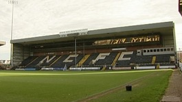 The gala dinner will take place on the pitch at Meadow Lane