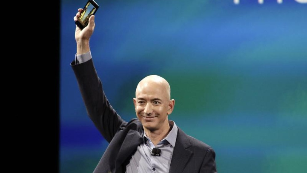 Amazon unveils its first 'Fire' smartphone
