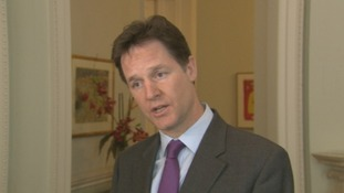 Leader of the Liberal Democrats Nick Clegg said he was not made aware of the allegations until the start of 2013.