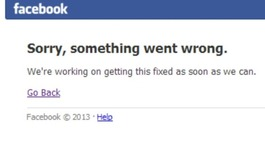 Facebook back online after short worldwide outage