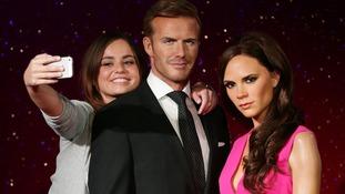 David and Victoria Beckham complete waxwork revamp