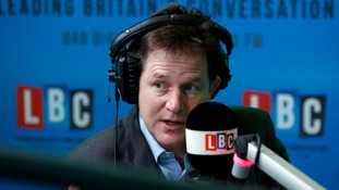 "Nick Clegg said Mike Hancock's conduct had caused ""huge distress""."