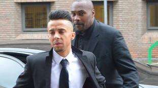 Dino Costas Contostavlos arrives at court
