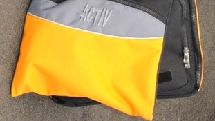 Essex Police have asked the public if they saw a woman carrying this bag on the morning of Nahid's murder.