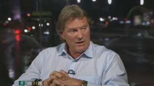 Glenn Hoddle gives his take on the game on ITV Sport.